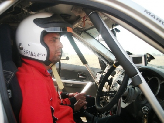 Suresh Rana Defends Maruti Suzuki Desert Storm Title