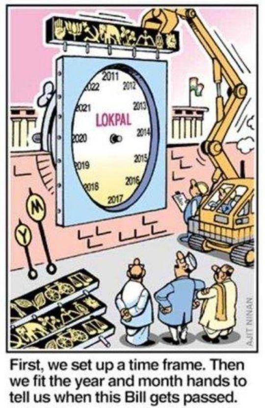 Lokpal or Thokpal!