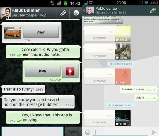 Whatsapp new UI