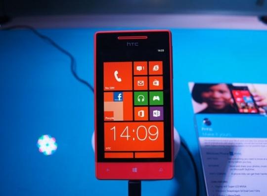 HTC 8S smartphone