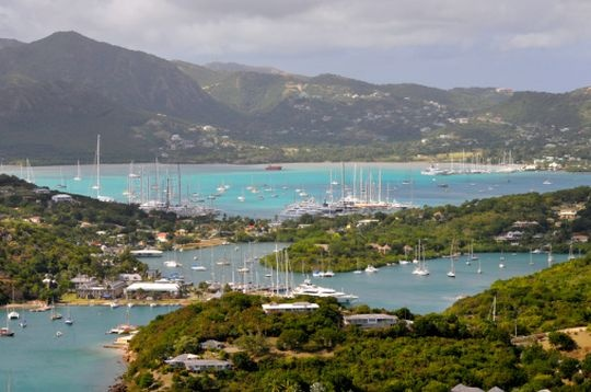 Beach: Inn at English Harbour, Antigua & Barbuda