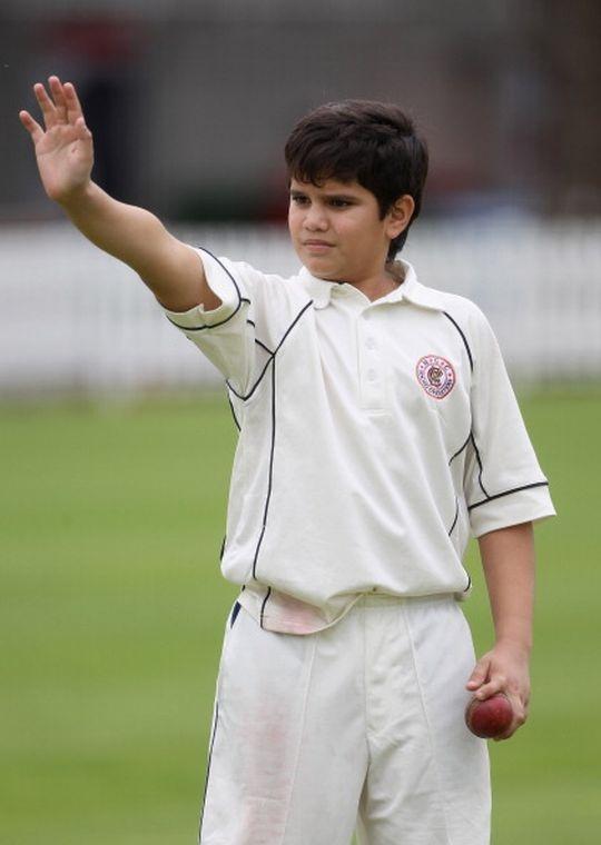 Arjun, the bowler