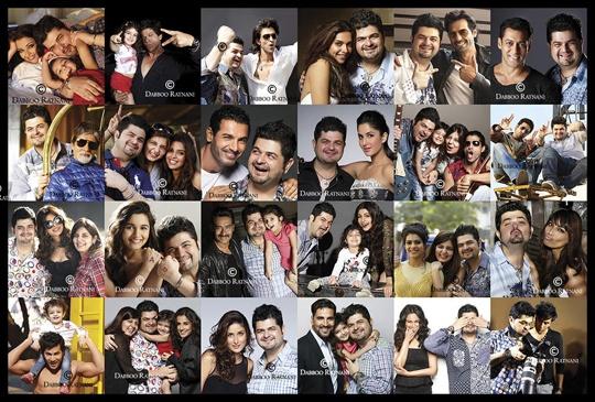 Dabboo Ratnani Calendar Collage