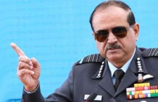 IAF chief