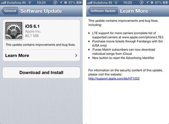 iOS 6.1