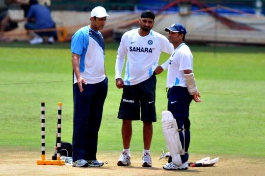 Anil Kumble, Harbhajan Singh & Sachin Tendulkar