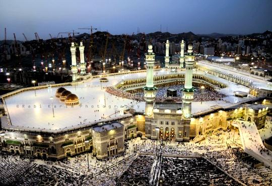 Masjid Al Haram in Saudi Arabia