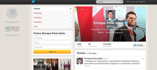 Enrique Peña Nietoin
