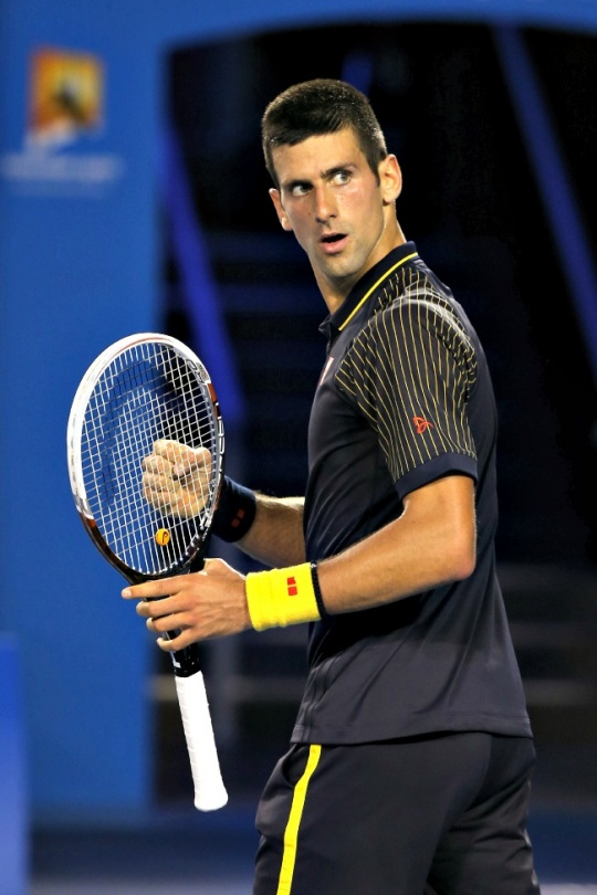 Novak Djokovic Enters Australian Open Final