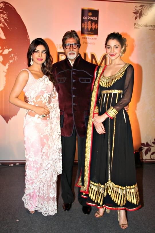 Priyanka Chopra, Amitabh Bachchan, Anushka Sharma