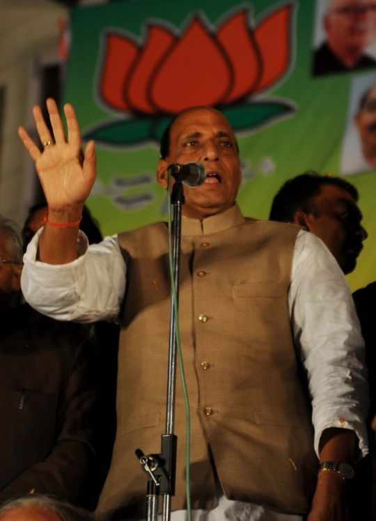 Rajnath Singh Back as Party Chief