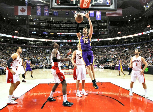 Raptors Hand Lakers Fifth Straight Defeat