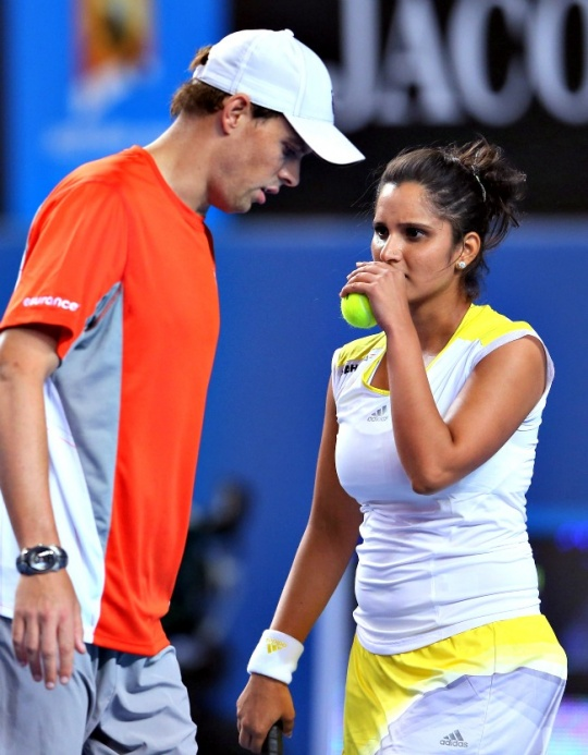Sania Mirza and Bob Bryan