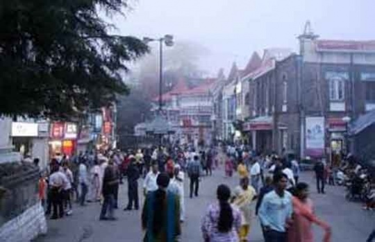 Shimla's Scandal Point