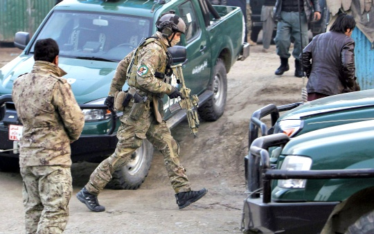 Taliban Attack Rocks Kabul