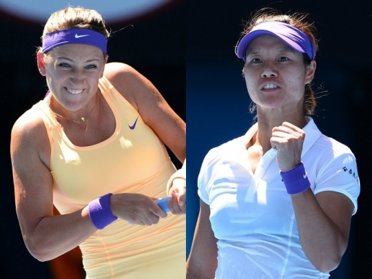 It's Azarenka vs Li Na at Australian Open Final