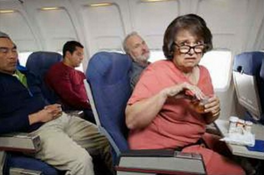 What Annoying Flight Passengers Do
