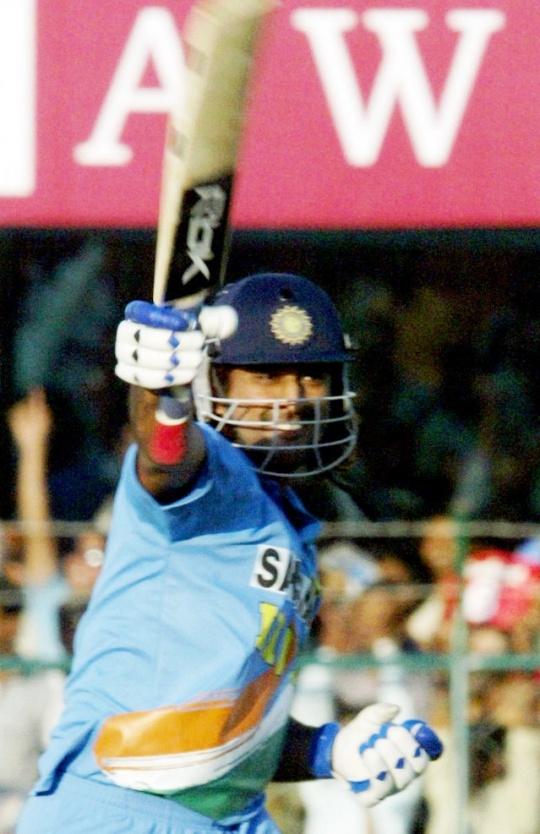 183* vs Sri Lanka at Jaipur, 2005