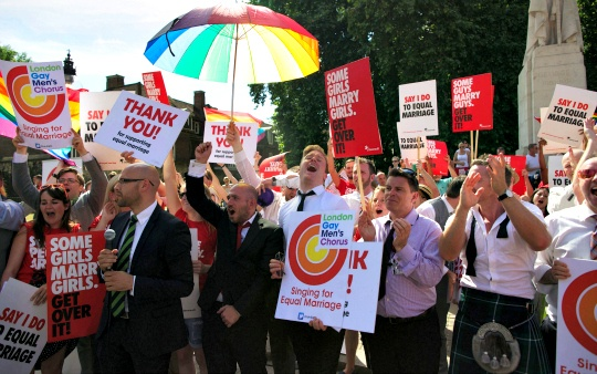 British Gay Marriage Bill Clears Crucial Hurdle