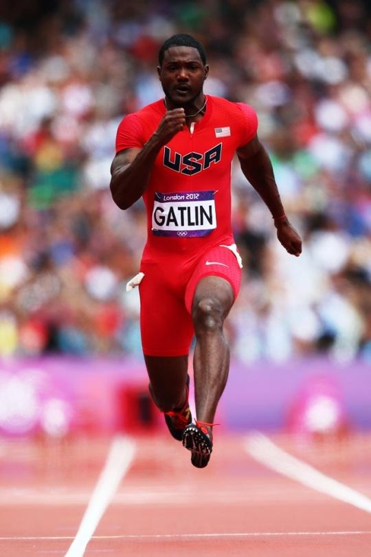 Justin Gatlin (U.S.)