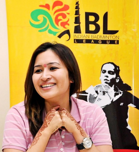 I Will Let My Racquet Do the Talking: Jwala