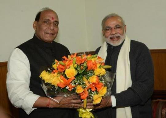 Rajnath Singh - Narendra Modi