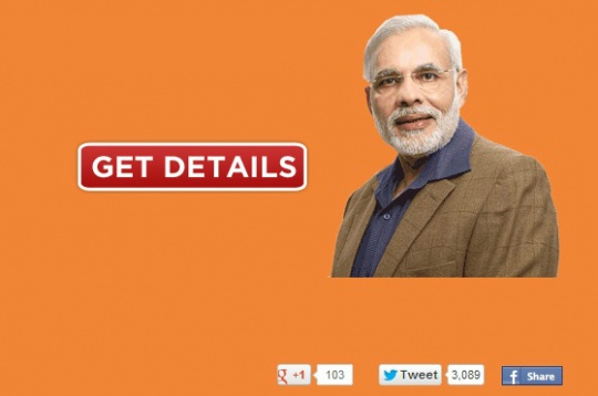 Narendra Modi Spoof Site Resurrected in Protest