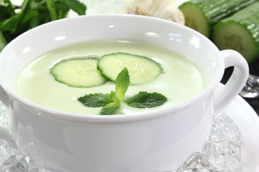 Low Calorie Soup Recipe: Cucumber-Buttermilk Cold Soup