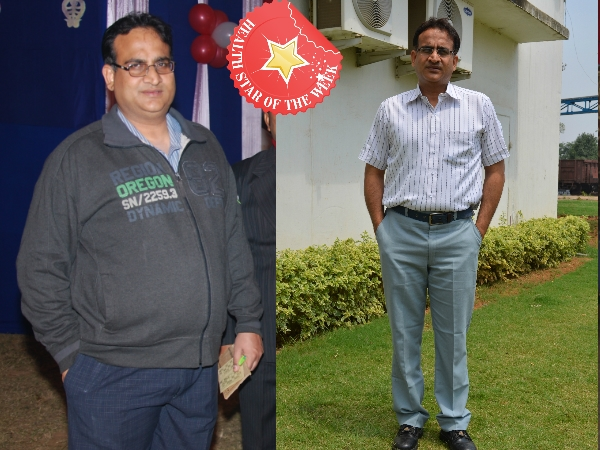 Health Star Of The Week: Ravi Wadhawan's Yoga-Diet Way To Weight Loss
