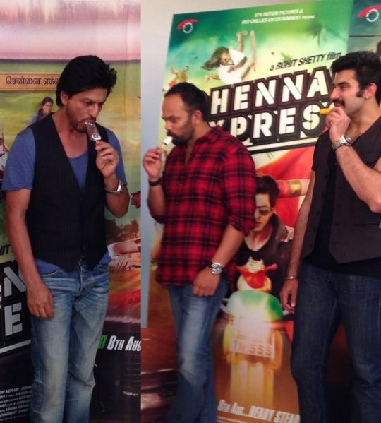 SRK, ROHIT SHETTY
