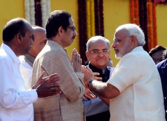 Shiv Sena, Modi Bhai Bhai!