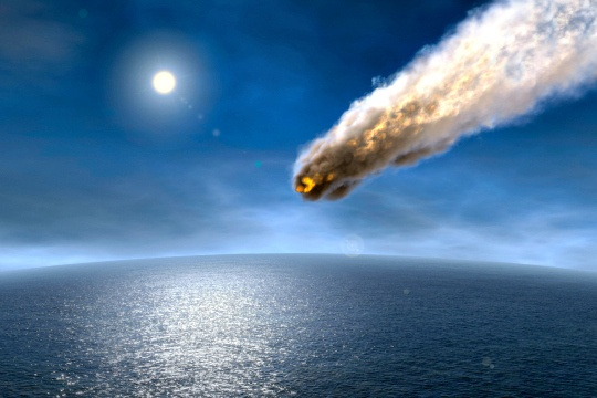 Life-Producing Phosphorus Carried to Earth by Meteorites