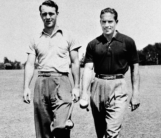 Arnold Palmer and Frank Stranahan