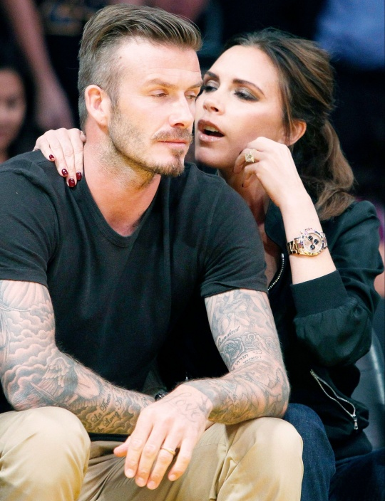 David and Victoria Beckham reunite in NY