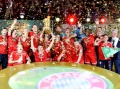 Bayern Win Cup to Earn Historic Treble