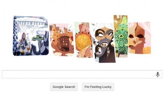 Google Doodle Gaudi