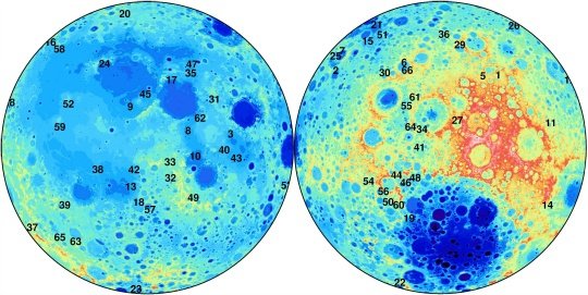 280 Hidden Craters Found on Moon