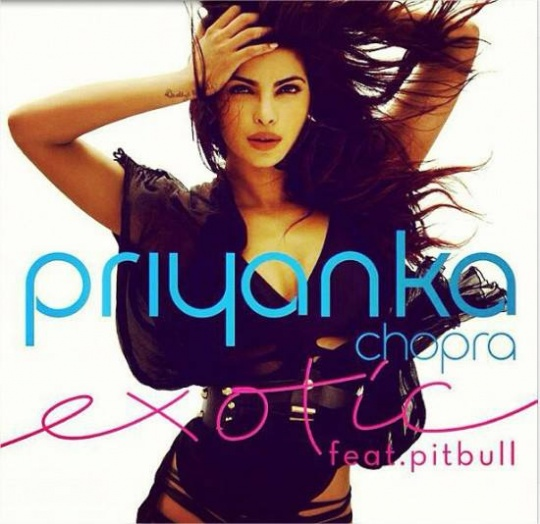 Priyanka Chopra's Exotic Cover