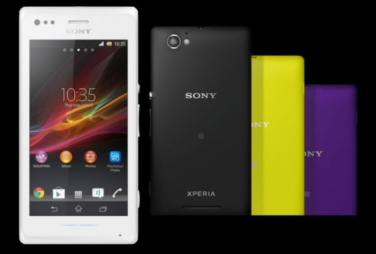 Sony Xperia M, the New Budget Phone from Sony