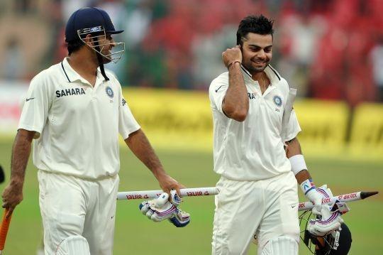 Kohli & Dhoni