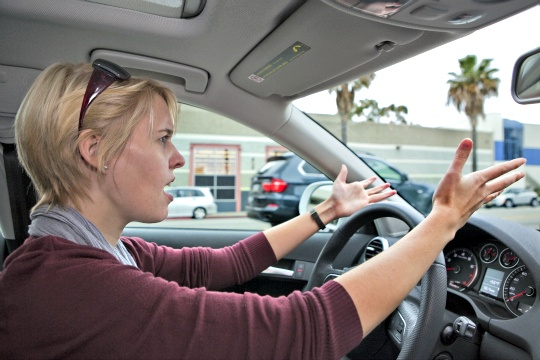 It's Official! Women Drivers Curse More