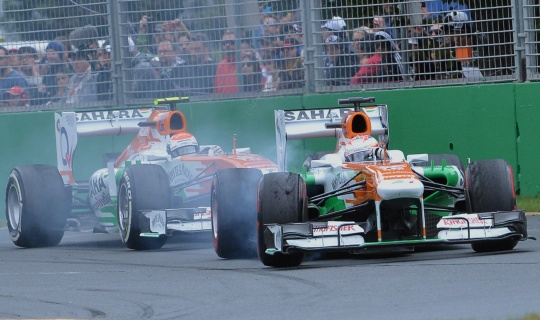 Sahara Force India Off to Best Ever Start