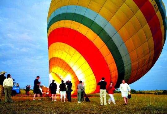 Ballooning Over Maasai Mara