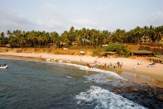 Candolim Beach, Goa