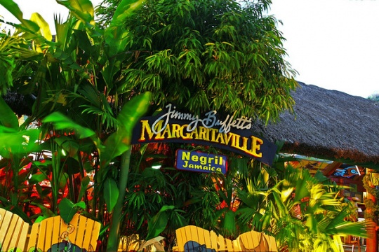 Jimmy Buffett's Margaritaville on Montego Bay's Hip Strip