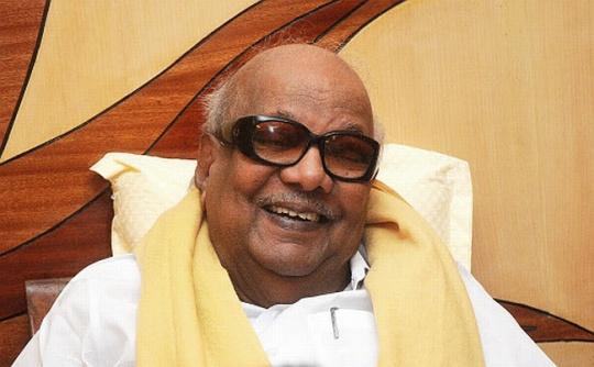 DMK Chief Karnunanidhi