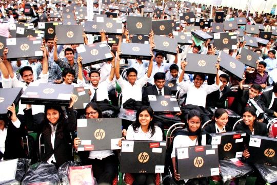 UP Govt Launches Free Laptop Scheme