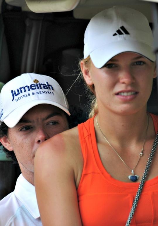 McIlroy and Wozniacki 'Split'?