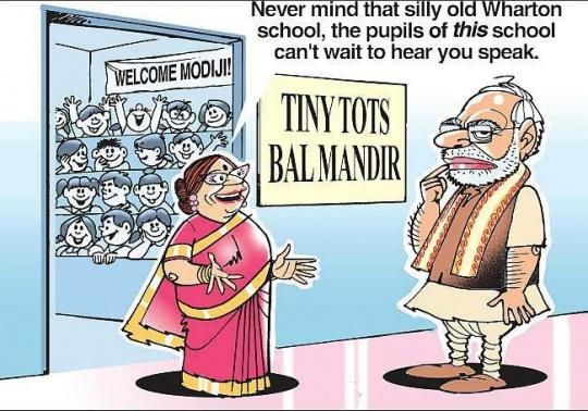 Narendra Modi's Wharton Snub