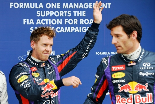 Sebastian Vettel or Mark Webber 'to Quit Red Bull' at End of F1 season